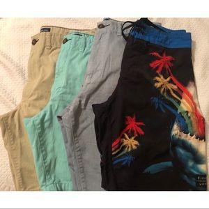 Mens shorts assorted bundle